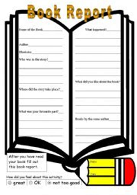49 Great Images Of Book Report Worksheet High School